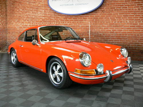 1969 Porsche 911T Coupe SOLD (picture 1 of 6)