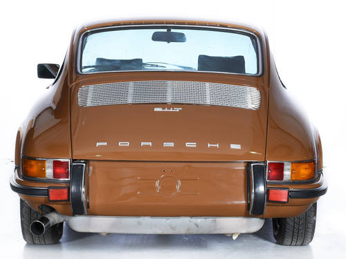 Porsche 911T 1973 Coupe 2.4L Engine LHD Sepia Brown For Sale (picture 5 of 6)