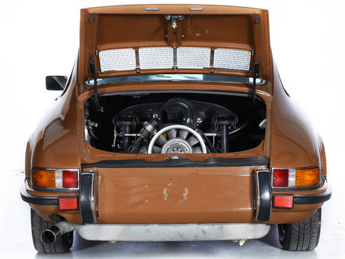 Porsche 911T 1973 Coupe 2.4L Engine LHD Sepia Brown For Sale (picture 6 of 6)