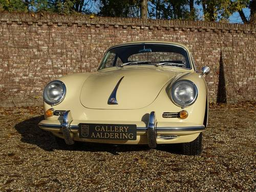 1964 Porsche 356C 1600 616/15 Fully Restored condition! For Sale (picture 5 of 6)