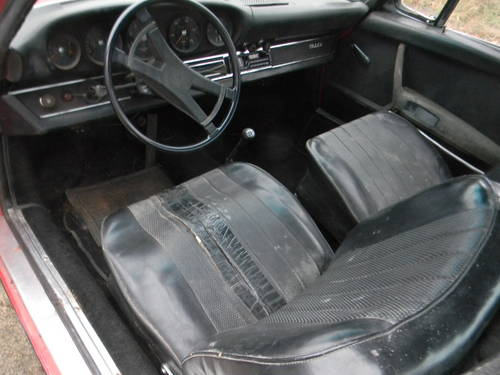 1970 Porsche 911T Targa Needs Restoration - SOLD (picture 5 of 6)