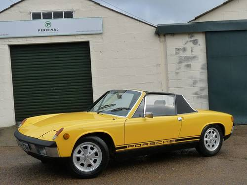 1973 Porsche 914, 2.0 litre, Sold SOLD (picture 1 of 6)