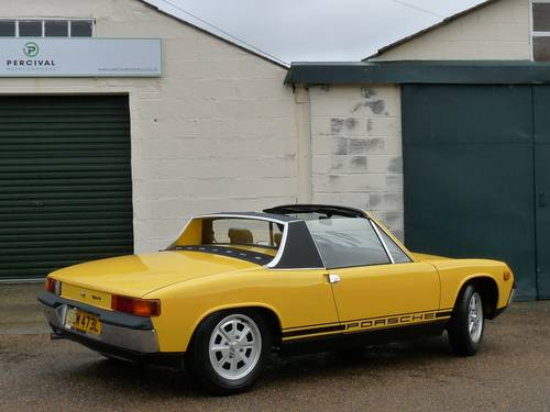 1973 Porsche 914, 2.0 litre, Sold SOLD (picture 2 of 6)