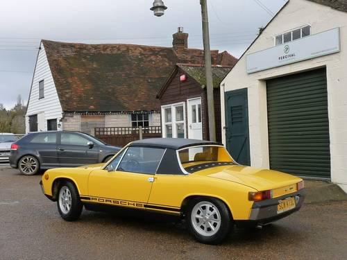 1973 Porsche 914, 2.0 litre, Sold SOLD (picture 4 of 6)