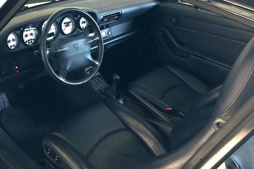 1996 Porsche 993 Carrera. Left-hand drive, Very low mileage SOLD (picture 4 of 6)