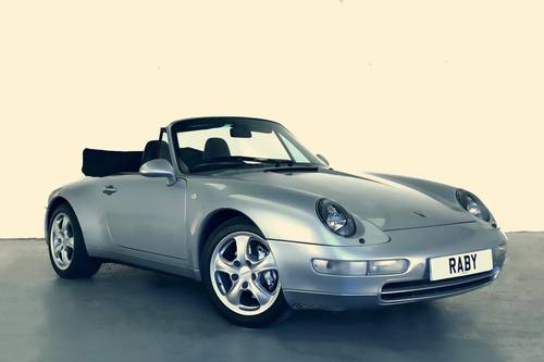1996 Porsche 993 Carrera 4 Cabriolet. Superb condition and histor SOLD (picture 1 of 6)
