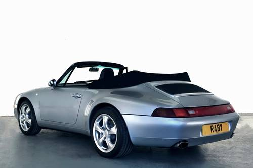 1996 Porsche 993 Carrera 4 Cabriolet. Superb condition and histor SOLD (picture 2 of 6)