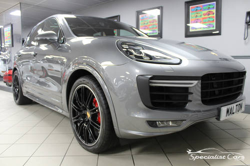 2017 Porsche Cayenne Turbo - Atlas Grey For Sale (picture 1 of 6)