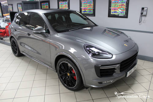 2017 Porsche Cayenne Turbo - Atlas Grey For Sale (picture 2 of 6)