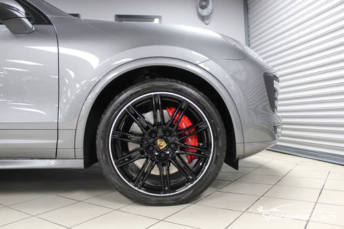 2017 Porsche Cayenne Turbo - Atlas Grey For Sale (picture 3 of 6)