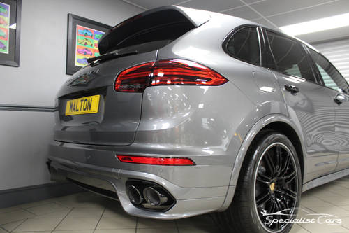 2017 Porsche Cayenne Turbo - Atlas Grey For Sale (picture 6 of 6)