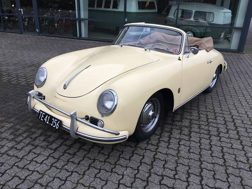 1959 Porsche 356 A 1,6 Cabriolet SOLD (picture 1 of 6)