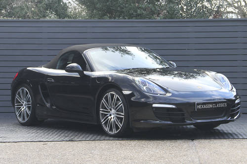 2016 PORSCHE BOXSTER 981 BLACK EDITION SOLD (picture 1 of 6)