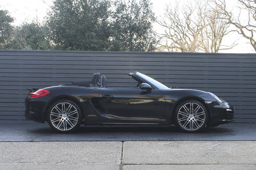 2016 PORSCHE BOXSTER 981 BLACK EDITION SOLD (picture 3 of 6)
