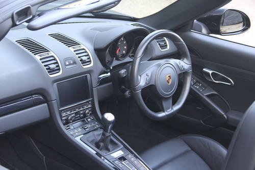 2016 PORSCHE BOXSTER 981 BLACK EDITION SOLD (picture 5 of 6)