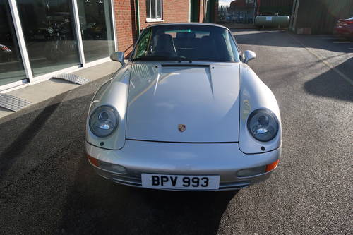 1997 Porsche 911 993 Carrera 2 Cabriolet Manual LOW MILEAGE For Sale (picture 2 of 6)