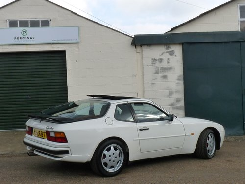1990 Porsche 944 Turbo 250bhp, low mileage with full history For Sale (picture 2 of 6)