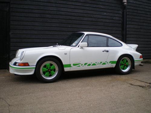 1984 PORSCHE 911 3.2 CARRERA S.E. COUPE ( 2.7 RS Evocation  ) For Sale (picture 1 of 6)