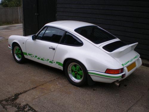 1984 PORSCHE 911 3.2 CARRERA S.E. COUPE ( 2.7 RS Evocation  ) For Sale (picture 5 of 6)