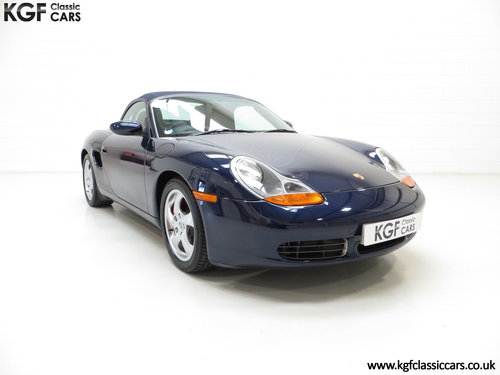 2002 Porsche Boxster S 3.2, 36547 Miles and Full Porsche History SOLD (picture 1 of 6)