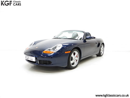 2002 Porsche Boxster S 3.2, 36547 Miles and Full Porsche History SOLD (picture 2 of 6)