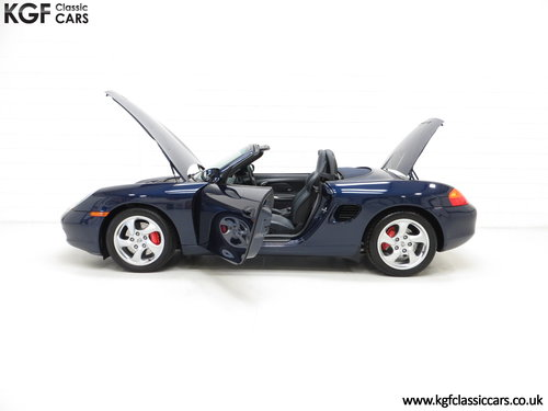 2002 Porsche Boxster S 3.2, 36547 Miles and Full Porsche History SOLD (picture 3 of 6)