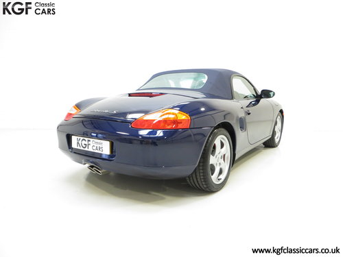 2002 Porsche Boxster S 3.2, 36547 Miles and Full Porsche History SOLD (picture 5 of 6)