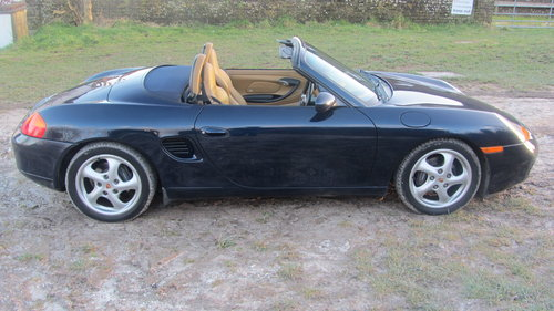 2000 Porsche Boxster Tiptronic S For Sale SOLD (picture 5 of 6)