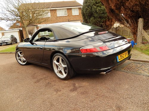2002 LHD 996 Carrera 2 convertiblr 3.6 manual LOW MILEAGE --  SOLD (picture 1 of 6)