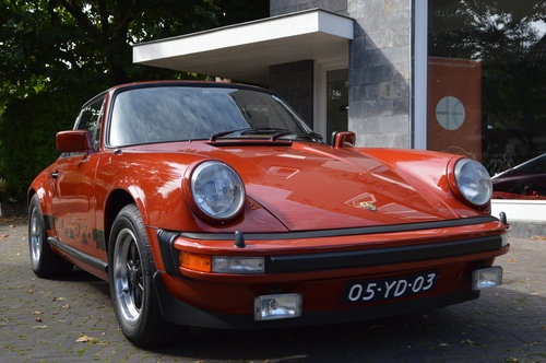 1975 Porsche 911 Carrera Targa 3.0 (LHD) For Sale (picture 1 of 6)