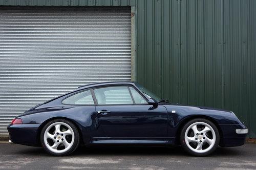 1996 Porsche 911 (993) Carrera 2S Coupe Tip, Ocean Blue, 65k FSH. SOLD (picture 2 of 6)