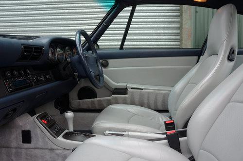 1996 Porsche 911 (993) Carrera 2S Coupe Tip, Ocean Blue, 65k FSH. SOLD (picture 5 of 6)