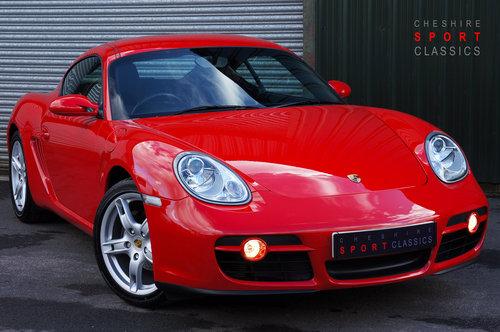 2007 Porsche Cayman 2.7, 26,000 miles, Black Leather, FSH, Superb SOLD (picture 1 of 6)