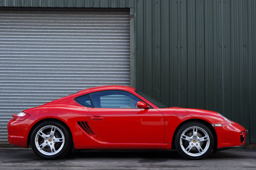 2007 Porsche Cayman 2.7, 26,000 miles, Black Leather, FSH, Superb SOLD (picture 2 of 6)
