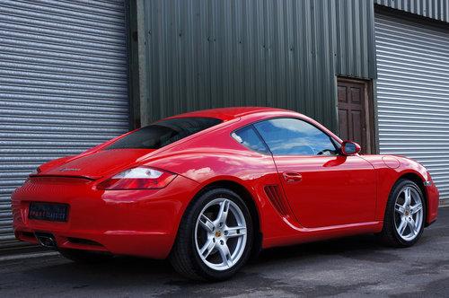 2007 Porsche Cayman 2.7, 26,000 miles, Black Leather, FSH, Superb SOLD (picture 3 of 6)