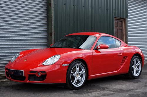 2007 Porsche Cayman 2.7, 26,000 miles, Black Leather, FSH, Superb SOLD (picture 4 of 6)