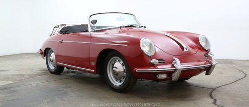 1962 Porsche 356B T6 Twin Grille Roadster For Sale (picture 1 of 6)