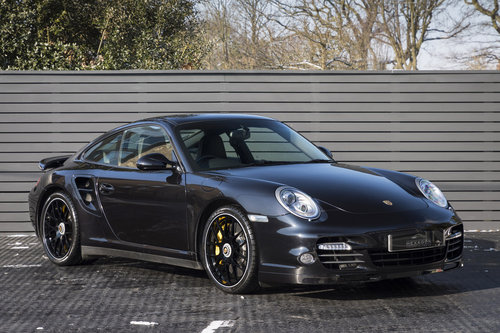 2012 PORSCHE 997 Turbo S Coupe  SOLD (picture 1 of 6)