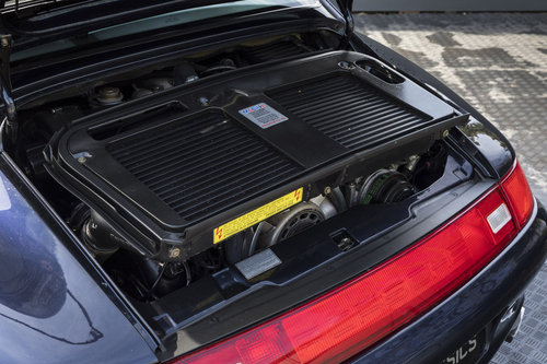 1996 PORSCHE 911 (993) TURBO X50 SOLD (picture 5 of 6)