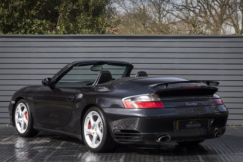 2004 PORSCHE 911 (996) TURBO CABRIOLET Tip S  SOLD (picture 2 of 6)