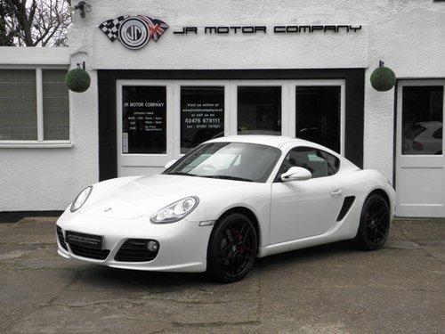 2010 Porsche Cayman 3 4 S Gen Ii Pdk Finished In Carrera White Sold