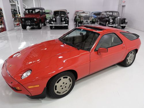 1986.5 Porsche 928S Sunroof Coupe For Sale (picture 2 of 6)