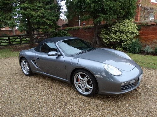 2005 PORSCHE BOXSTER 987 3.2S 6 Speed Manual For Sale (picture 1 of 6)