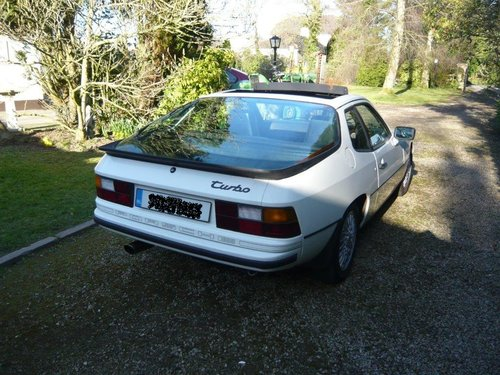 1979 Porsche 924Turbo Mk1 RHD (Porsche 932) For Sale (picture 2 of 6)