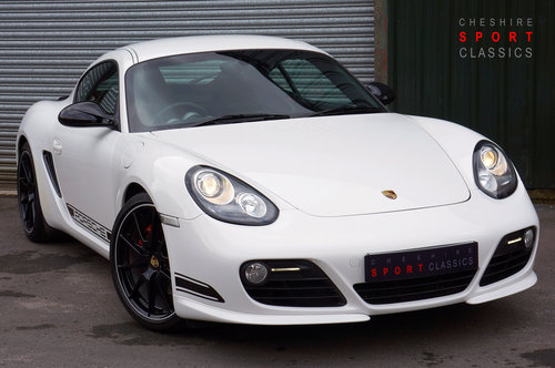 2011 Porsche Cayman R PDK, White, 34k, Buckets, Spyders, FPSH. SOLD (picture 1 of 6)