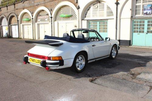 1986 Porsche 911 3.2 Cabriolet 62K miles For Sale (picture 4 of 6)