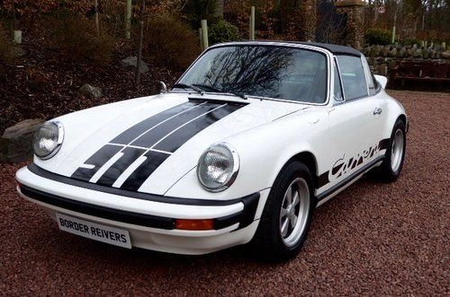 1974 Porsche 911 2.7 mfi Targa RHD super rare SOLD (picture 1 of 6)