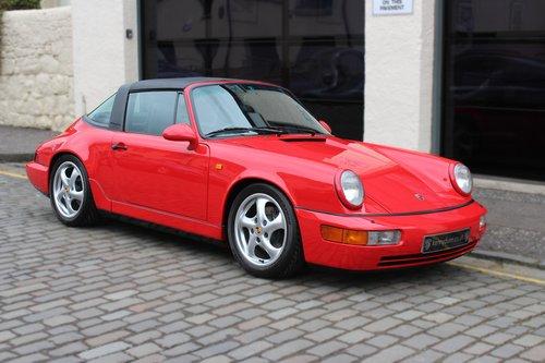 1993 Porsche 911 3.6 964 Carrera 2 Targa 2dr SOLD (picture 1 of 6)