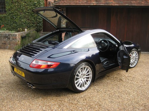 2007 Porsche 911 (997) 3.8 Targa 4S Just Serviced With Borescope  For Sale (picture 5 of 6)