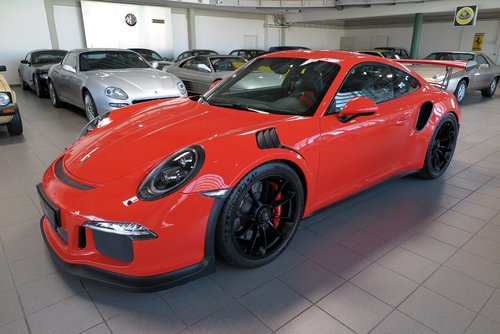 2015 Porsche 991 GT3 RS *One Owner*6,000 km*Without Roll Cage !!* For Sale (picture 1 of 6)